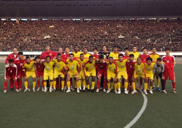 El club Atletico de Sorocaba en Corea del Norte