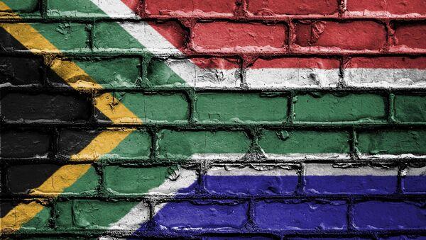 La bandera de Sudáfrica - Sputnik Mundo