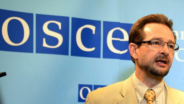 El secretario general de la OSCE, Thomas Greminger - Sputnik Mundo