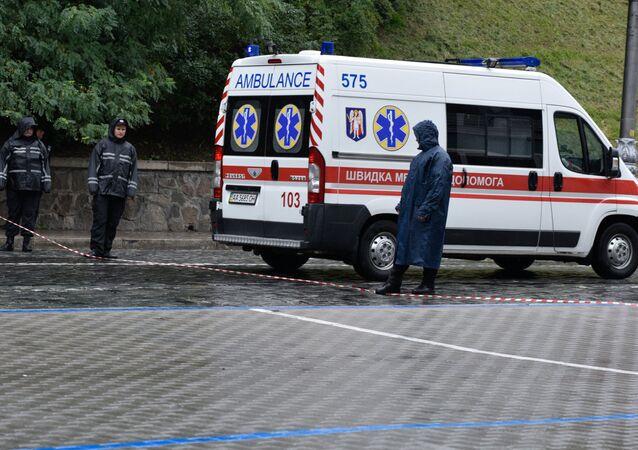 Ambulancia ucraniana (archivo)