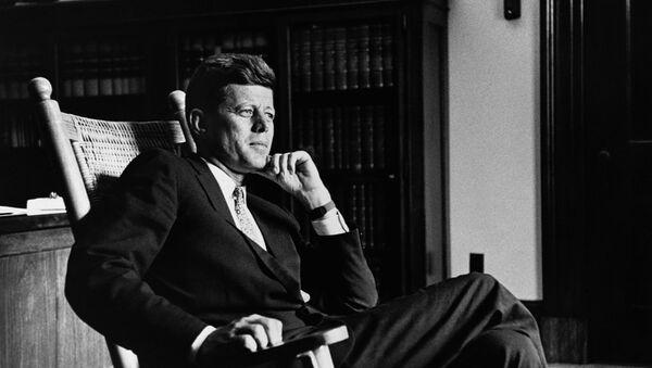 John F. Kennedy, expresidente de EEUU (archivo) - Sputnik Mundo