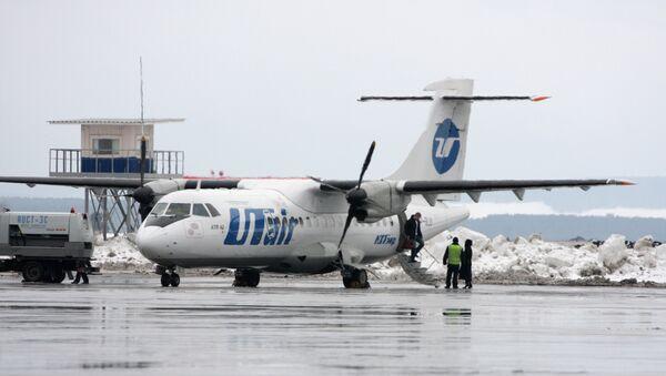 Un avión de la compañía aérea UTair (archivo) - Sputnik Mundo