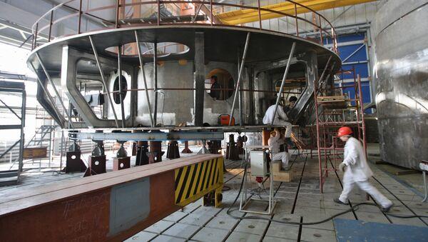 Reactor nuclear (archivo) - Sputnik Mundo