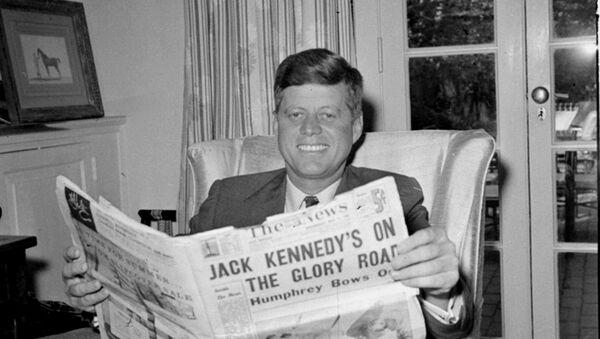 John F. Kennedy (archivo) - Sputnik Mundo