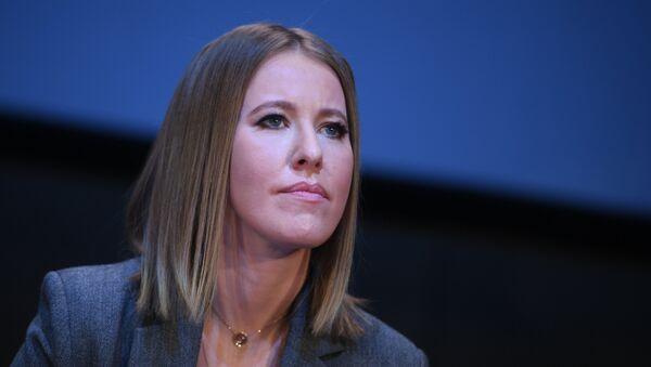 Ksenia Sobchak, periodista y presentadora de televisión, candidata presidencial (archivo) - Sputnik Mundo