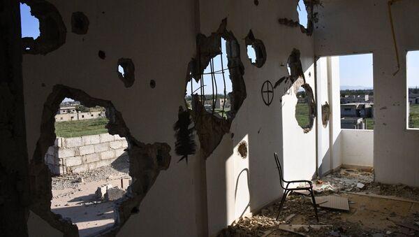 La situación de Guta Oriental en Siria (archivo) - Sputnik Mundo