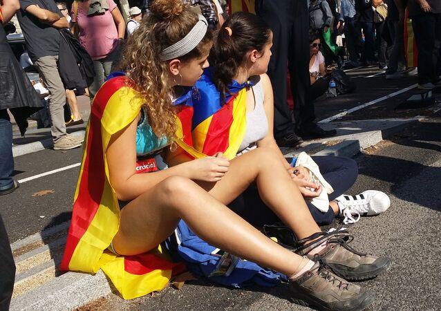 Manifestación en Barcelona (archivo)