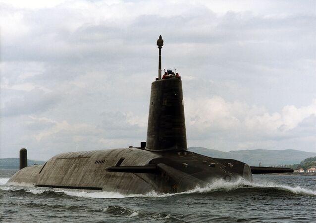 Submarino nuclear HMS Vigilant