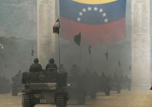 Tanques venezolanos (archivo)