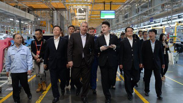 Visita oficial de vice primer ministro ruso, Dmitri Rogozin, a China - Sputnik Mundo