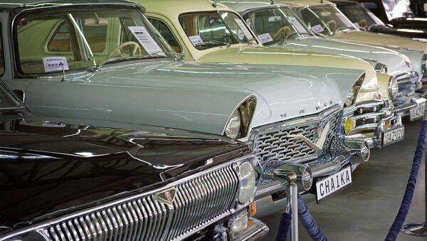 Los coches soviéticos (imagen referencial) - Sputnik Mundo