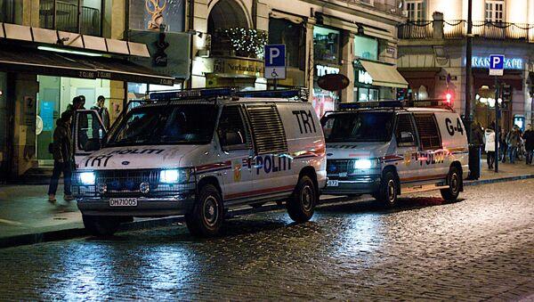 Policía en Oslo, Noruega - Sputnik Mundo
