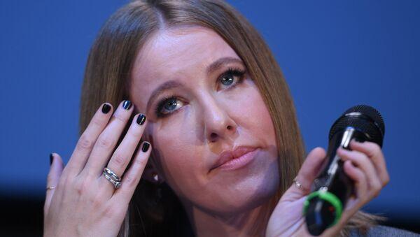 Ksenia Sobchak, periodista y presentadora de televisión, candidata presidencial - Sputnik Mundo