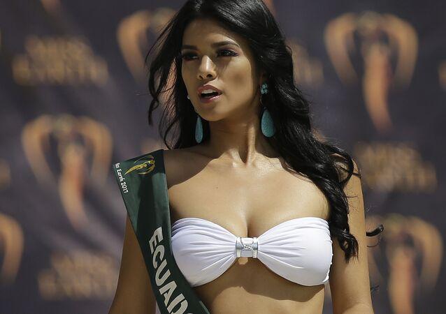 Las bellas nominadas para Miss Tierra en Manila