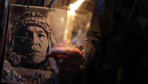 Retrato de Milagro Sala, dirigente social argentina - Sputnik Mundo