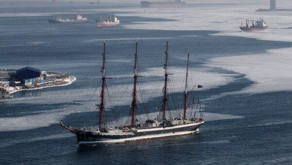 Barco escuela ruso Sedov (archivo) - Sputnik Mundo