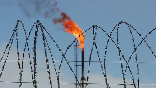 Un depósito de gas en Rusia - Sputnik Mundo