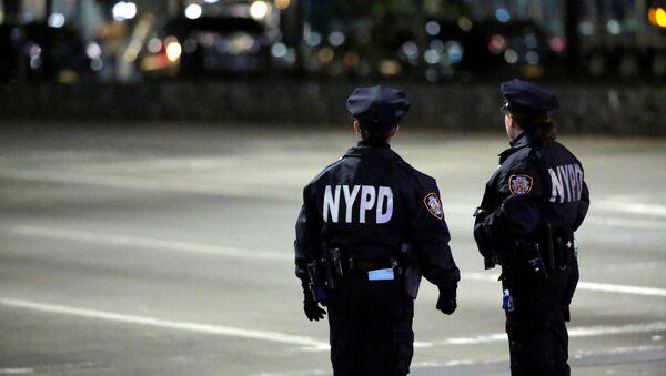Policía de Nueva York, EEUU - Sputnik Mundo