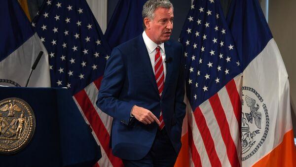 Bill de Blasio, el alcalde de Nueva York - Sputnik Mundo