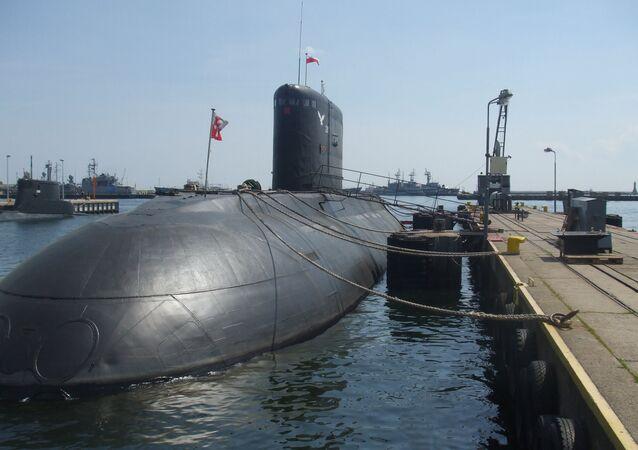 El submarino Orzel de la Armada de Polonia