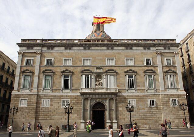 Edificio del Gobierno catalán