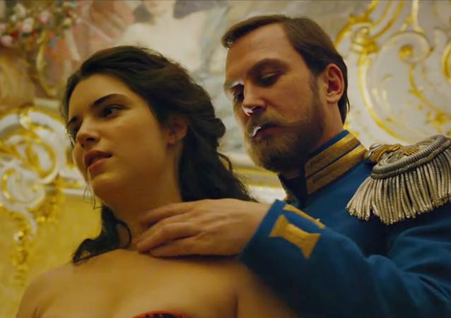 Escena de la película 'Matilda' del director Alexéi Uchítel (ROK, 2017)