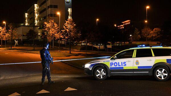 La Policía sueca (imagen referencial) - Sputnik Mundo