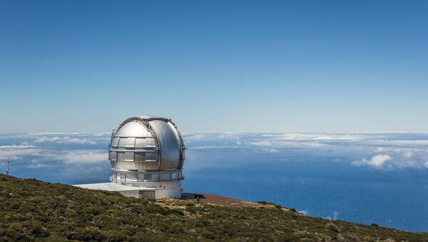 Telescopio de de observación astronómica (imagen referencial) - Sputnik Mundo