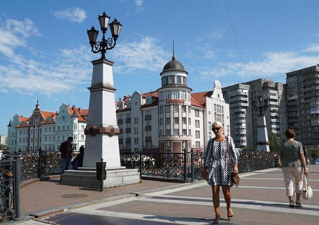 Centro histórico de Kaliningrado