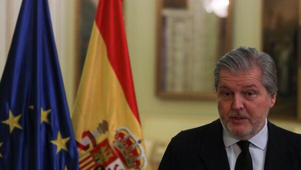 Íñigo Méndez de Vigo, portavoz del Gobierno español - Sputnik Mundo