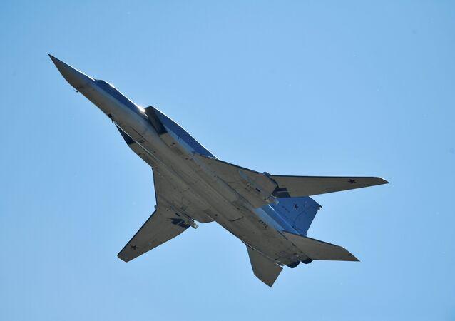 Los bombarderos Tu-22m3 en Siria