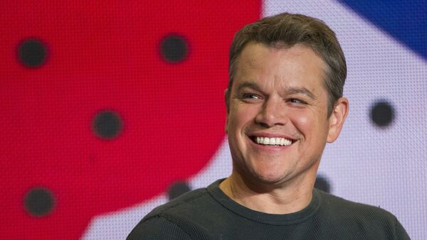 Matt Damon, actor norteamericano (archivo) - Sputnik Mundo