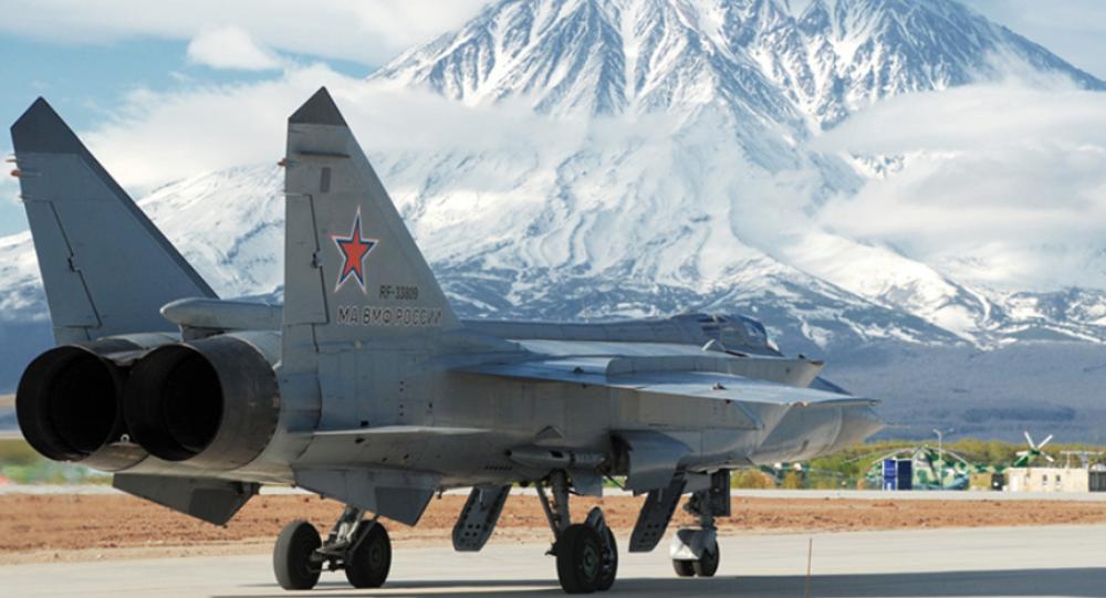 MiG-31, caza de interceptación aérea (archivo)