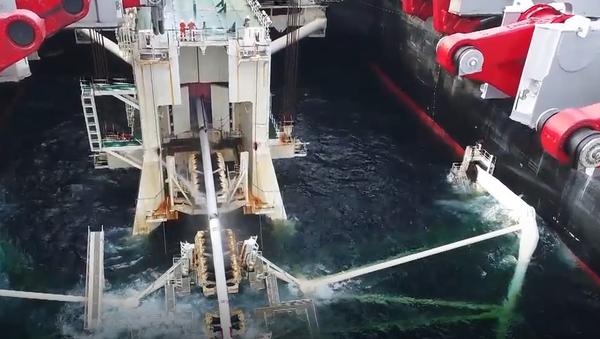 Momento histórico: el Turk Stream 'conquista' territorio turco - Sputnik Mundo