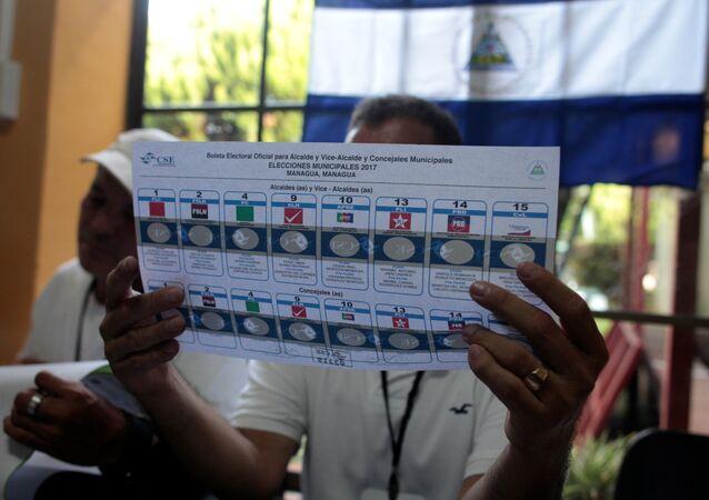 Elecciones en Nicaragua