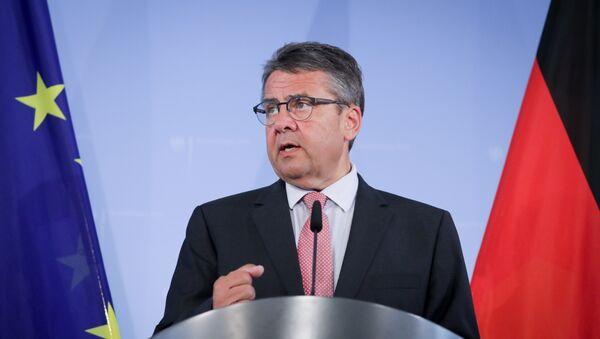 Sigmar Gabriel, ministro de Asuntos Exteriores de Alemania - Sputnik Mundo