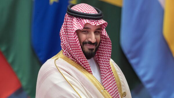 El príncipe heredero de Arabia Saudí, Mohamed bin Salman Saud - Sputnik Mundo