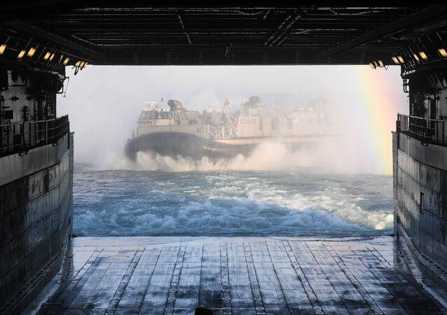 Las maniobras de la OTAN en el Báltico (archivo)