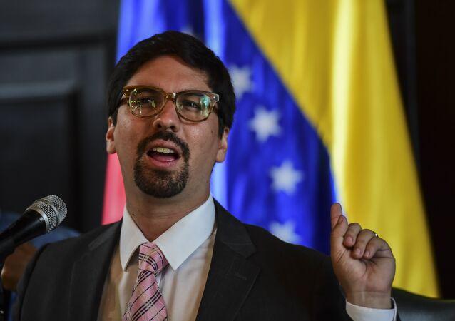 Freddy Guevara, vicepresidente de la Asamblea Nacional venezolana (archivo)