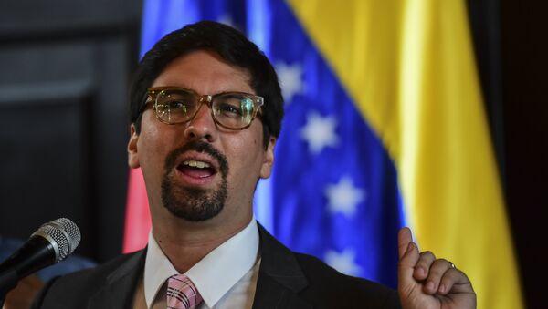 Freddy Guevara, vicepresidente de la Asamblea Nacional venezolana (archivo) - Sputnik Mundo