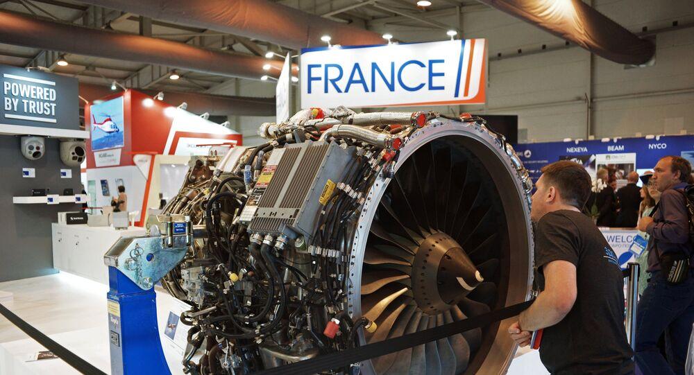 Motor turboventilador PowerJet SaM146