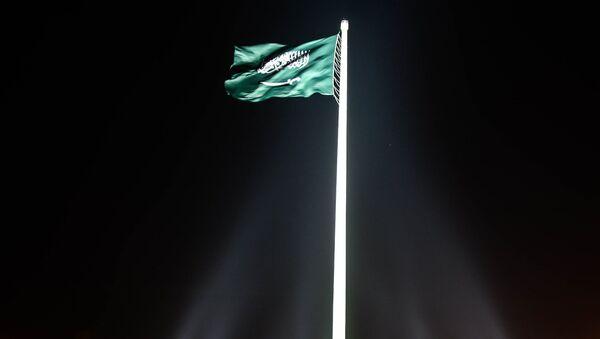 La bandera de Arabia Saudí - Sputnik Mundo