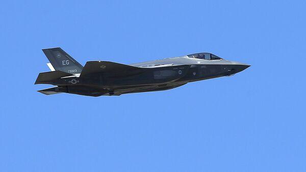 El cazabombardero de EEUU F-35A - Sputnik Mundo