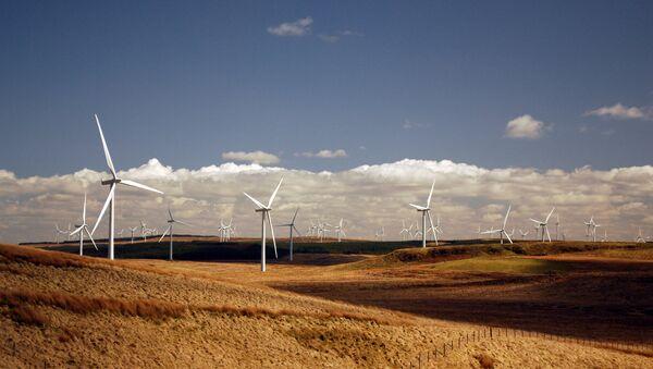 La planta eólica de Whitelee Wind, en Escocia - Sputnik Mundo
