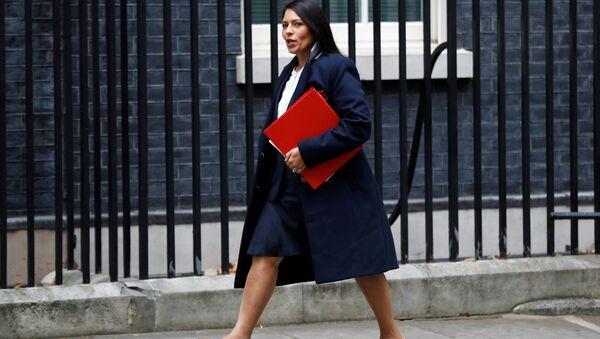 Priti Patel, exministra de Desarrollo Internacional de Reino Unido - Sputnik Mundo