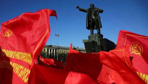 Celebración del centenario de la Revolución de Octubre - Sputnik Mundo