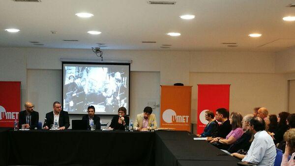 Debate sobre el impacto de la Revolución rusa en la Universidad Metropolitana del Trabajo (UMET),Buenos Aires - Sputnik Mundo
