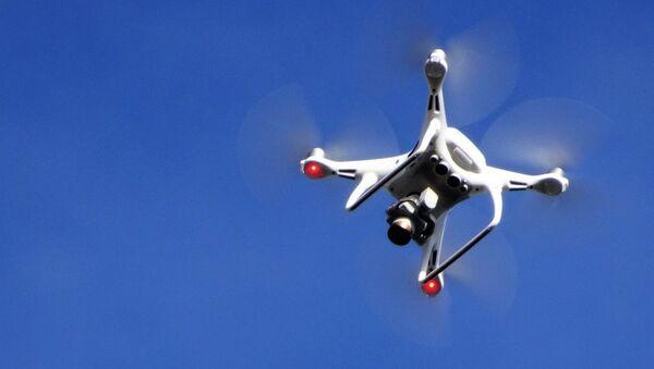 Un dron en el aire - Sputnik Mundo