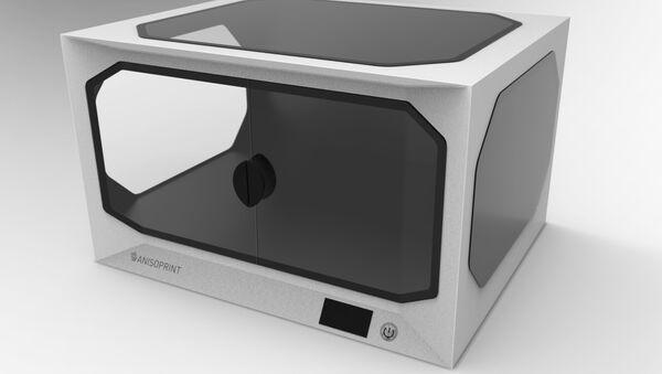 La impresora 3D rusa Anisoprint Composer - Sputnik Mundo