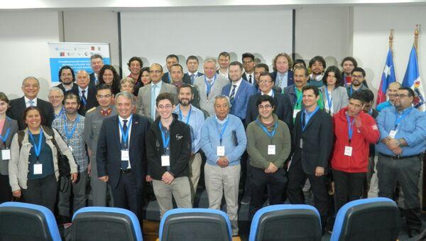 Los participantes del taller 'Tecnologías avanzadas rusas en América Latina y el Caribe' - Sputnik Mundo